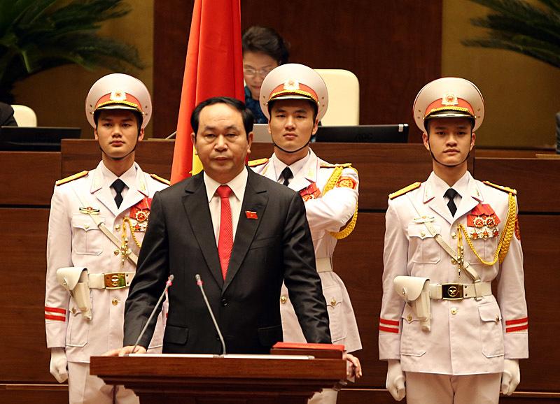Chủ tịch nước, đại tướng, trần đại quang, công an