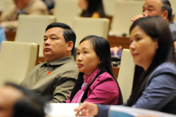 miễn nhiệm, Chủ tịch QH Nguyễn Thị Kim Ngân