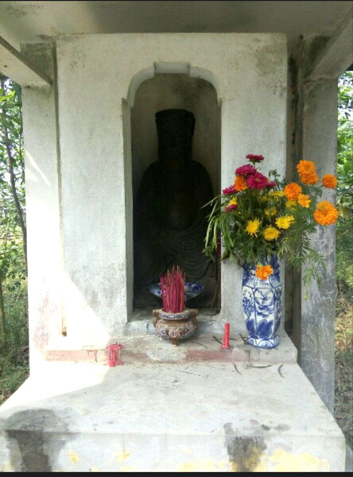 Bí ẩn bức tượng đồng 500 năm tạc cậu chúa Nguyễn