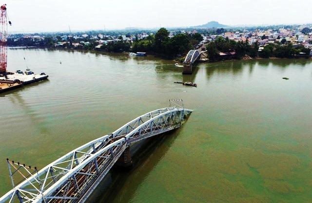 cầu ghềnh, tai nạn, đường sắt, xây mới