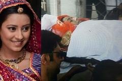 Tang lễ đẫm nước mắt của diễn viên 'Cô dâu 8 tuổi'