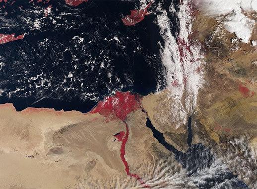 Bí ẩn sau bức ảnh 'sông Nile đỏ máu'