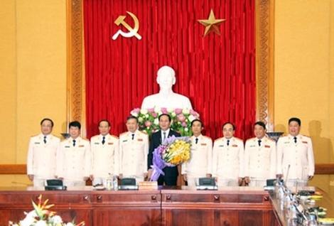 Chủ tịch nước, Trần Đại Quang, Bộ Công an