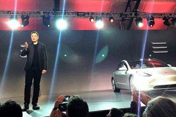 """Mỹ: """"Sốt"""" xe hơi điện của Tesla"""