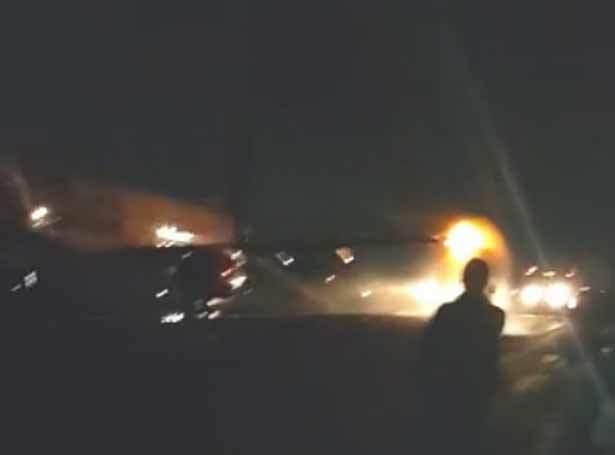 Máy bay đâm nhau, bốc cháy trên đường băng