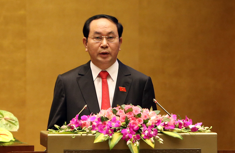 chủ tịch nước Trần Đại Quang,miễn nhiệm Thủ tướng