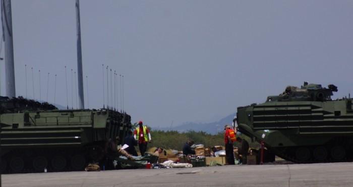 Biển Đông, vũ khí, tập trận, Mỹ, Philippines