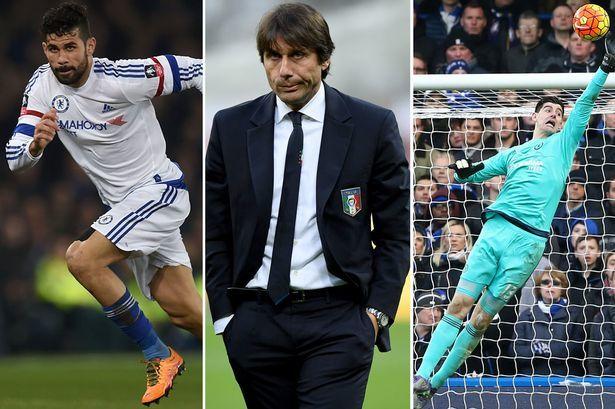 Conte 'thanh trừng' hai sao bự của Chelsea