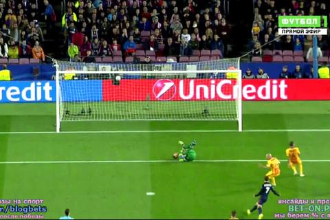Torres ghi bàn mở tỷ số
