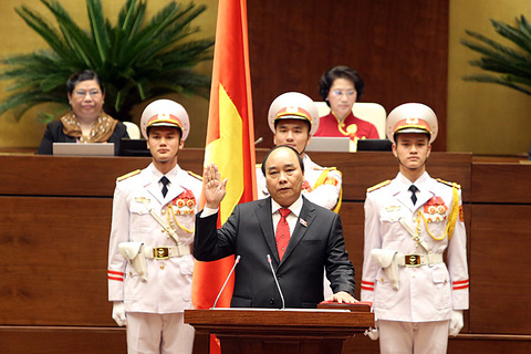 Thủ tướng Nguyễn Xuân Phúc tuyên thệ