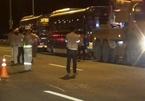 Tạm giữ 2 xe khách chặn cao tốc Hà Nội - Hải Phòng