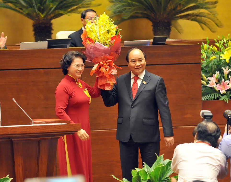 Thủ tướng Nguyễn Xuân Phúc, tuyên thệ