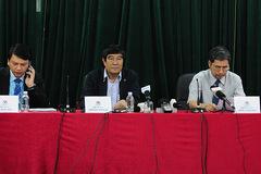 Lãnh đạo VFF nói về sức khỏe ông Lê Hùng Dũng