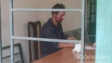 Một người Đức cướp xe máy gây náo loạn trong đêm