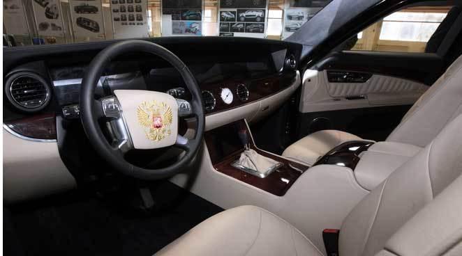 Hình ảnh 'siêu xe' mới của Putin