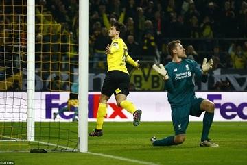Liverpool đánh rơi chiến thắng trong ngày về của Klopp