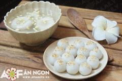 Các loại bánh trôi bánh chay dành cho tết Hàn thực