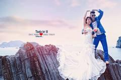 Hiệp Gà khoe hậu trường chụp ảnh cưới hài hước