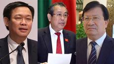 Đề nghị bổ nhiệm 3 phó thủ tướng, 18 bộ trưởng