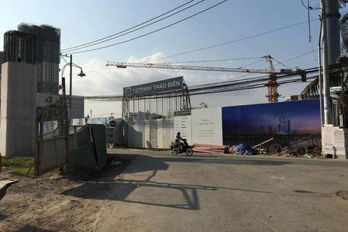 quyết định thu hồi đất tại dự án Gateway Thảo Điền, dự án Gateway Thảo Điền, tranh chấp tại dự án Gateway Thảo Điền