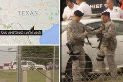 Nổ súng tại căn cứ không quân Mỹ