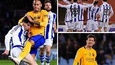 Messi tịt ngòi, Barca thua thảm trên sân Sociedad