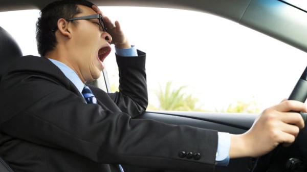 ngủ gật, tai nạn giao thông, lái xe
