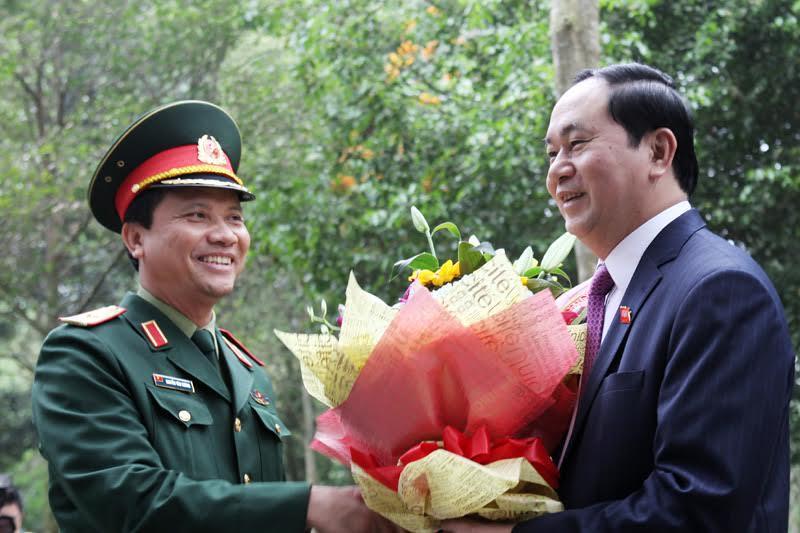 chủ tịch Hồ Chí Minh, chủ tịch nước trần đại quang, khu di tích k9, bộ trưởng thông tin truyền thông Trương Minh Tuấn, nguyễn bắc son, chủ tịch TP Hà Nội, nguyễn đức chung