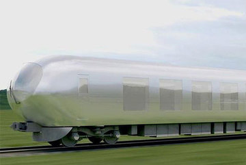 Sắp có 'tàu tàng hình' vận tốc hàng trăm km/h