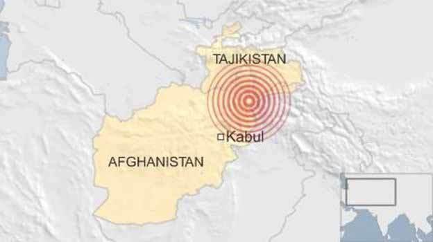 Động đất mạnh rung chuyển Nam Á