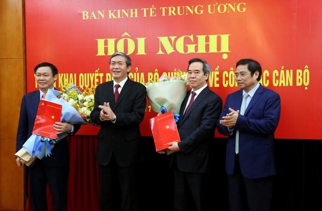 Ông Nguyễn Văn Bình làm Trưởng Ban Kinh tế TƯ