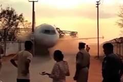 Cần cẩu sập, đánh rơi máy bay