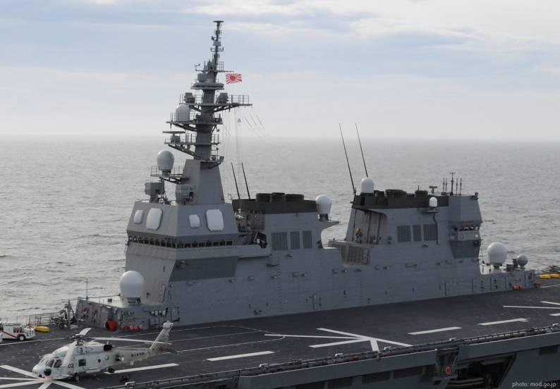 Nhật điều tàu khu trục khủng tới Biển Đông
