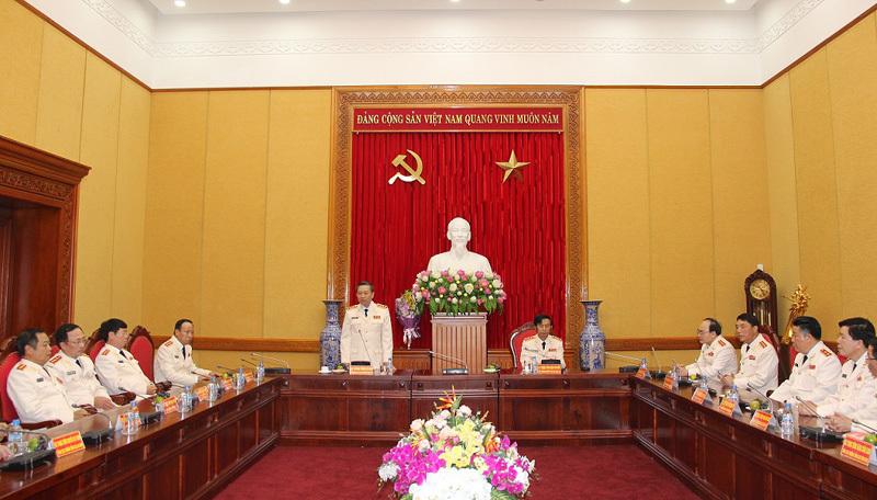 Bộ trưởng Công an, Tô Lâm
