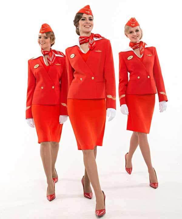 Những đồng phục tiếp viên hàng không gợi cảm nhất