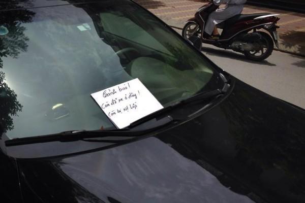 đỗ xe, đỗ nhờ xe, cấm đỗ xe, Hà Nội