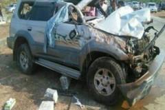 Xe vỡ lốp lộn 3 vòng, một Á hậu tử vong tại chỗ