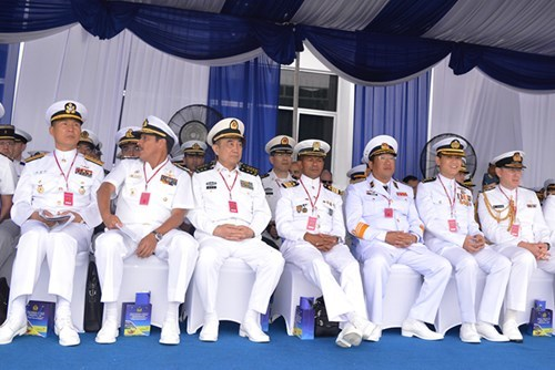 Tàu hải quân Việt Nam tham gia tập trận KOMODO 2016