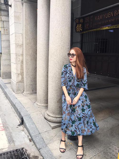 Hạ Vi, Thúy Vân hào hứng diện 'váy ngủ' xuống phố