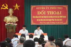 Hà Nội muốn đối thoại trực tuyến với dân