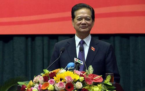 Nguyên Thủ tướng Nguyễn Tấn Dũng tiếp xúc cử tri Hải Phòng