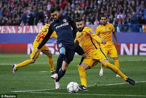 Video: Atletico 2-0 Barca