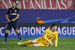 Quay chậm 90 phút ác mộng của Barca tại Calderon