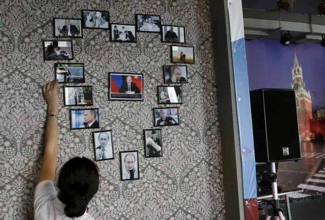 Bên trong tiệm cà phê Putin ở Nga