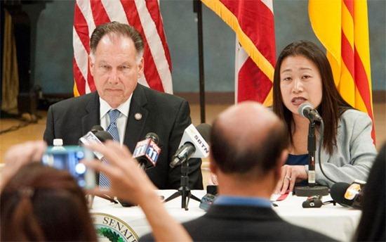 Minh Béo, Janet Nguyễn, lạm dụng tình dục trẻ em, cáo buộc, California, dự luật
