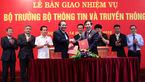 Bàn giao nhiệm vụ Bộ trưởng TT&TT cho ông Trương Minh Tuấn