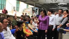Bộ trưởng Y tế đột xuất 'vi hành' 2 bệnh viện lớn