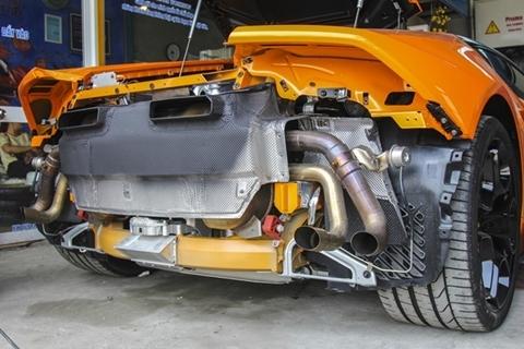 Độ siêu xe: Đại gia Đà Nẵng bỏ 150 triệu lắp ống pô