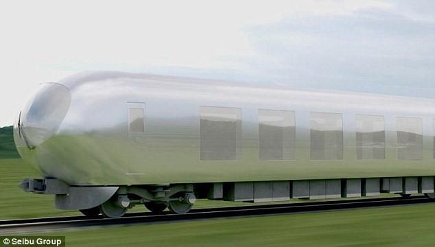 Tàu hỏa 'tàng hình': Ngồi trong toa như chạy ngoài trời