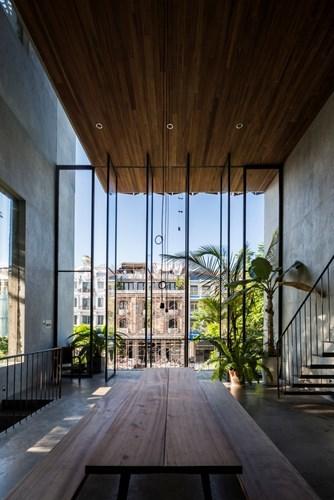 Thong house, nhà Việt trên báo Mỹ, thiết kế nhà, tạp chí kiến trúc Archdaily
